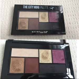 Maybelline x Shayla the City Mini palette